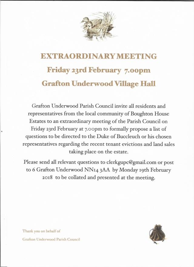 EX Meeting 23 feb